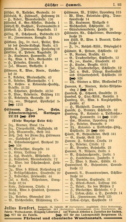 Adressbuch 1939
