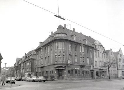 Mauritz-Eck an der Warendorfer Straße