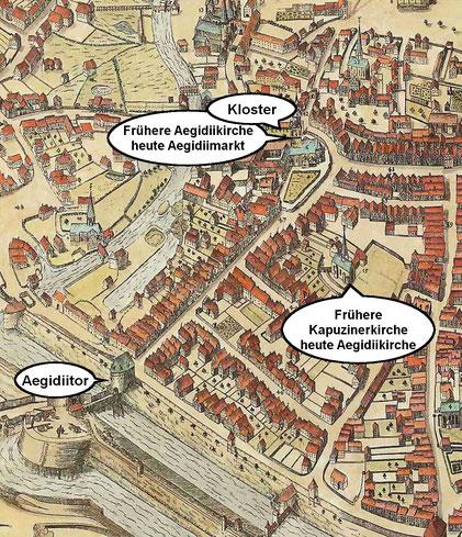 Alerdinckplan 1636 - Ausschnitt