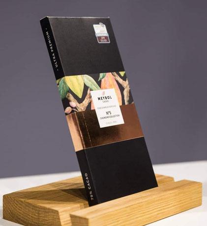 """Die schwarze Original-Verpackung der """"Chuncho No. 5"""""""