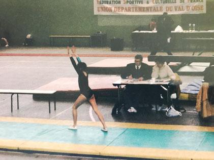 Compétition Gymnastique - Sol.