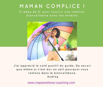 guide gratuit maman complice