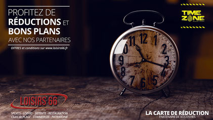 Réduction Time Zone Perpignan Loisirs 66