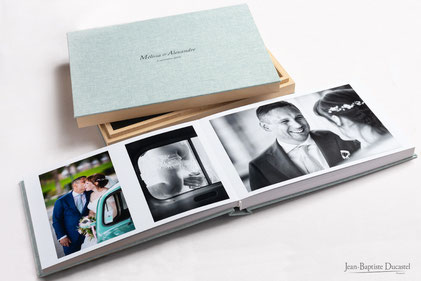 livre album photographe mariage haut de gamme