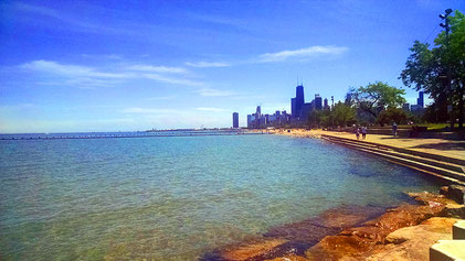 Chicago- Lake Michigan - Summer