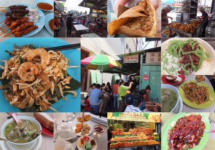 ペナン島食べ物写真