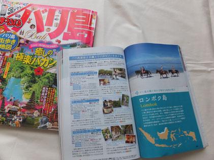 旅行ガイドブックの写真