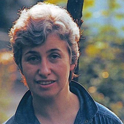 My mom Ursula Bechly (*1938, photo 1986)
