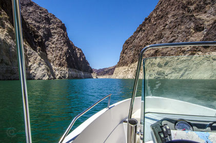 Lake Mead National Recreation Area, Bootstour, Canyon im Wasser, Las Vegas, Nevada