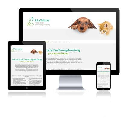 Responsive Website Grafikdesign Greven Katja Beter