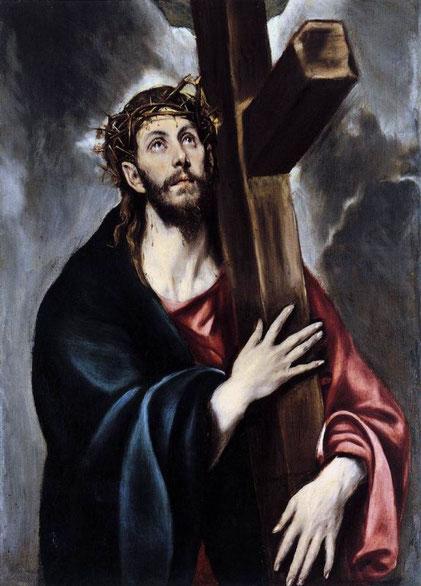Самые известные картины Эль Греко - Христос, несущий крест