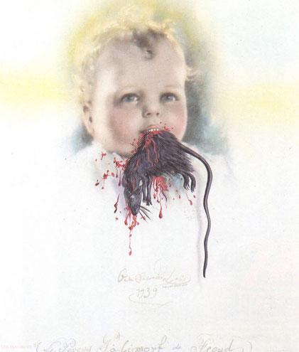 Болгарский ребеннок, пожирающий крысу