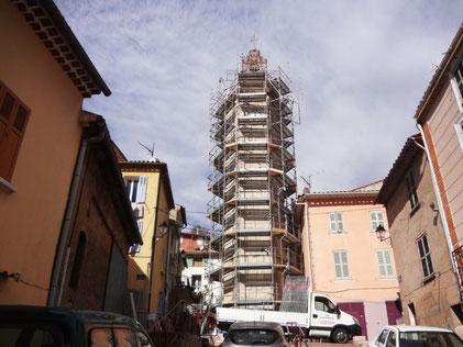 restoration-scaffolding-clock-tower-stone-gonfaron-var-83