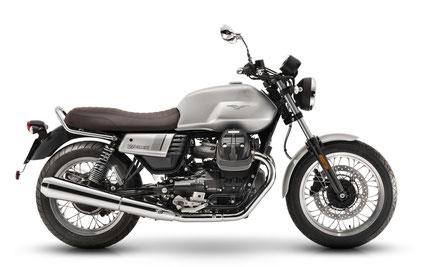 Motorrad Vermietung z.B. die Moto Guzzi V7 III Spacial - Modell