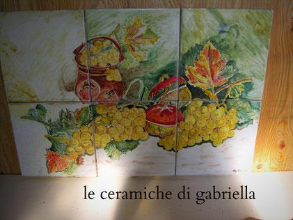 ceramic italy italian panel pannello di ceramica per cucina