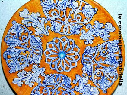 piatti maiolica ceramica