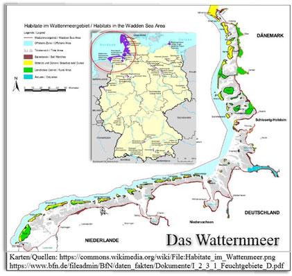 Wattenmeer - an der Nordsee
