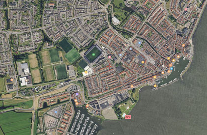 Volendam - Quelle: Google Earth