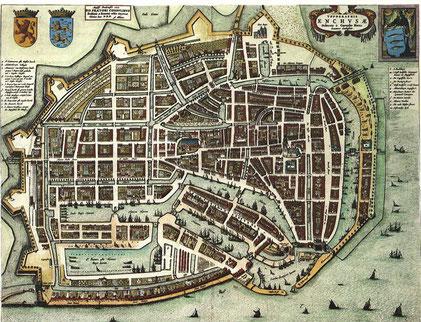 Enkhuizen 1652 - Quelle: https://commons.wikimedia.org