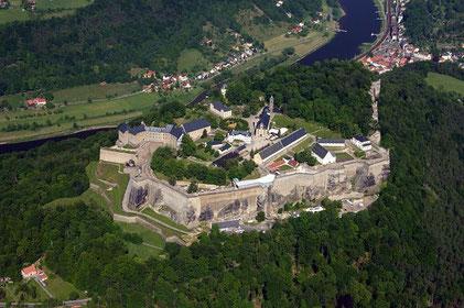 Festung Königstein - Quelle: Fritz-Gerald Schröder