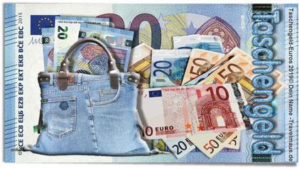 Euro-Taschengeld ... satt und genug :-)!