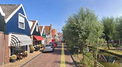 Volendam- Quelle: Google Earth