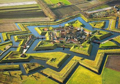 Festung Bourtange (Quelle:www.visitgroningen.nl)