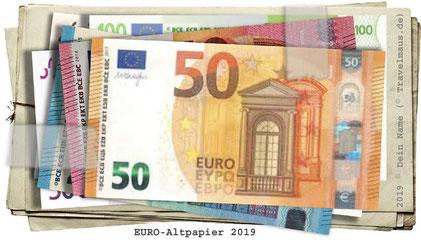 Altpapier-Euroscheine ? Kaum zu glauben! (Freeware)