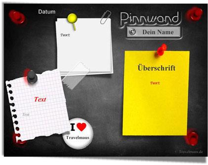 PDF-Pinnwand - am PC mit eigenen Texten ergänzen!