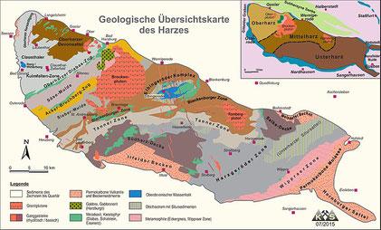 Quelle: de.wikipedia.org/wiki/Datei:Geologische_Karte_des_Harzes_(K_Stedingk).pdf
