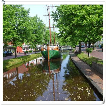 Heute waren wir in Papenburg!
