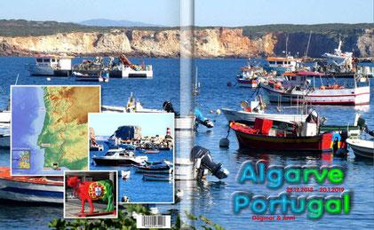 "PDF-Fotobuch ""Algarve 2019"" ( 25 Doppelseiten)"