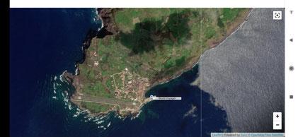 World Voyager auf der Insel Faial