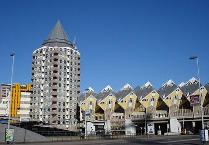 Rotterdam,  Kubushäuser - Quelle: Wikimedia