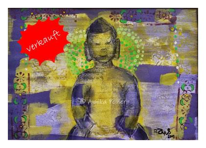 mixedmedia mit Acryl auf Papier, DIN A4