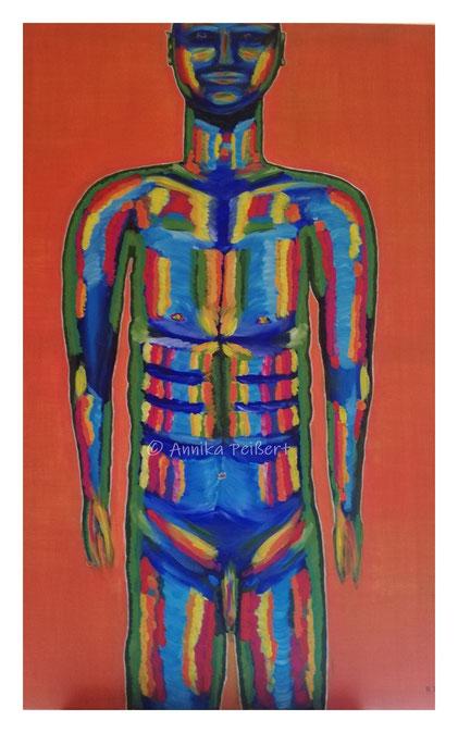 Acryl auf Leinen-Keilrahmen, 120 x 80 cm