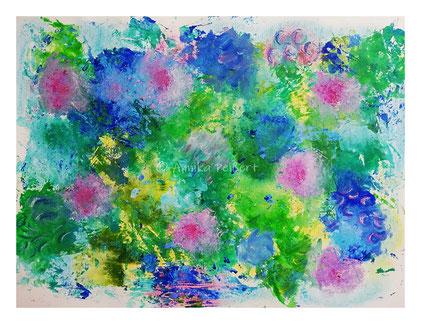Acry, Pastellkreide auf mixedmedia-Strukrutpapier, DIN A2