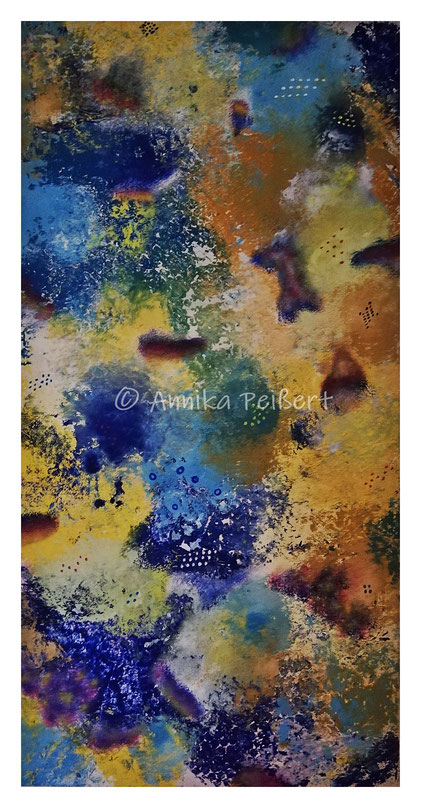 Acryl auf Keilrahmen, 100 x 50 cm