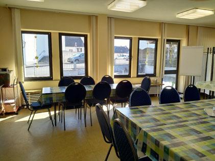Caféteria Treffpunkt Gruppenraum Café Vielfalt Wilkommen in Manderscheid