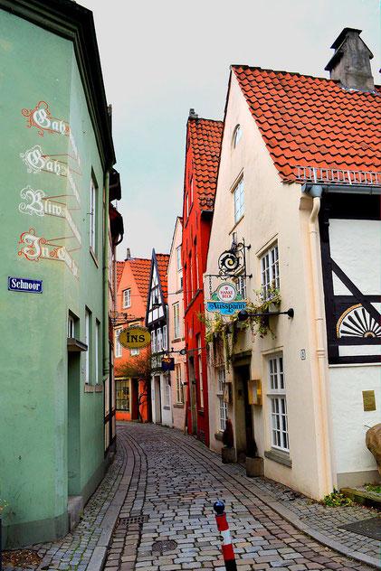 Der Schnoor in Bremen 29