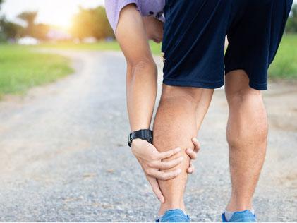 muskuläre Verspannungen beim Laufen