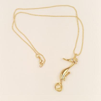 ciondolo cavalluccio marino biancopunto jewels