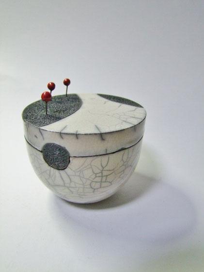 boite ceramique raku.