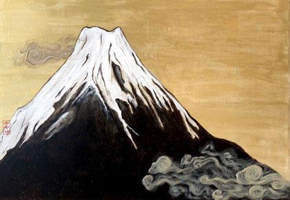 """""""Fujisan"""", 70 x 100 cm"""