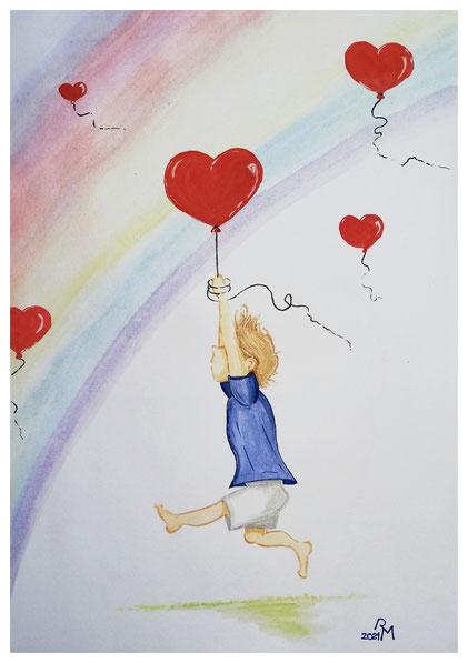 ...für dich fang ich die Liebe ein und halte sie fest.