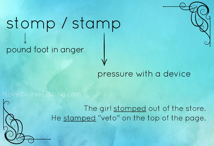 stomp or stamp