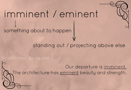 imminent or eminent