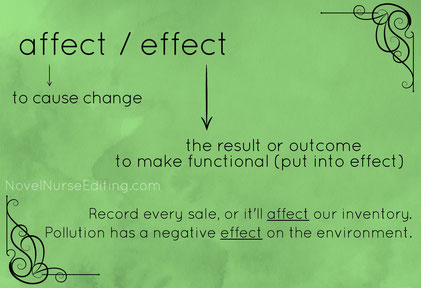 affect or effect