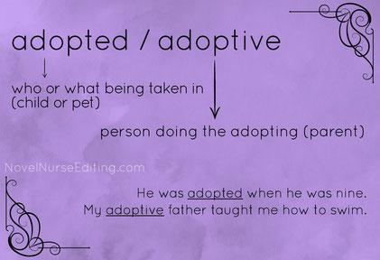 adopted or adoptive
