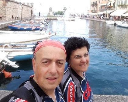 Arrivati a Lazise sul Lago di Garda